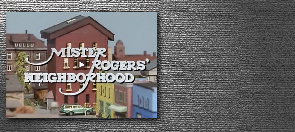 Mister Rogers Remixed By Symphony Of Science