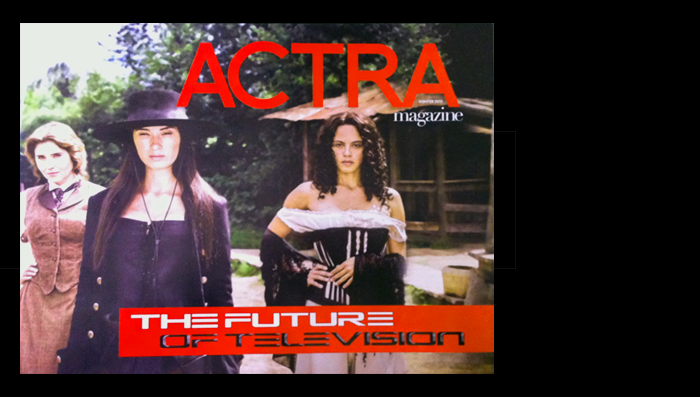Unlimited Shelf Space – ACTRA Magazine Interview